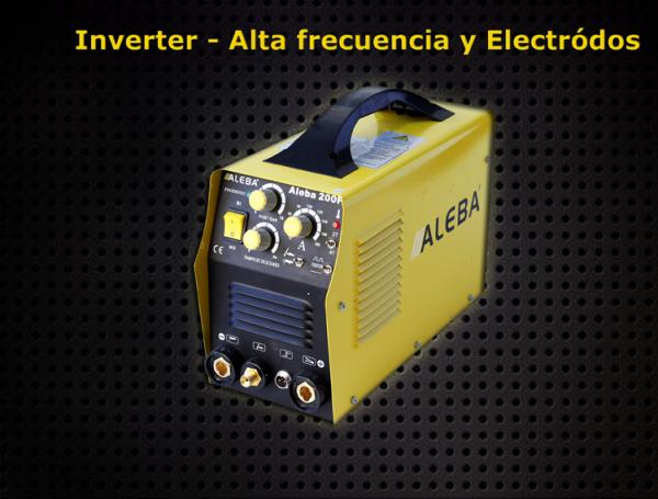 Inverter Alta Frecuencia y Electrodos